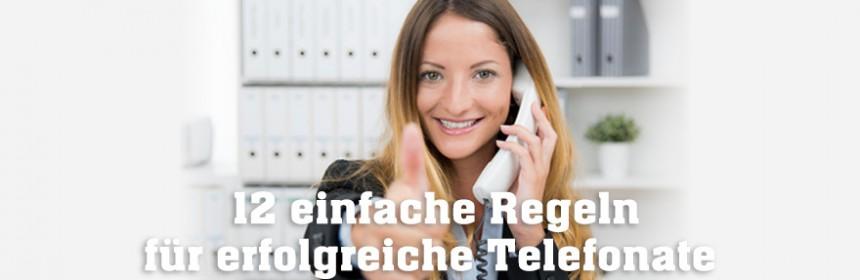 10 Regeln für erfolgreiche Telefonate mit Bewerbern